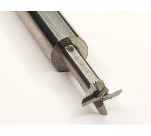 1/8 Diameter 3 Flute 90 Degree Included Angle Carbide Dovetail Cutters